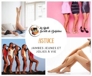 Illustration Article : Des jambes jeunes et Jolies pour la vie !!!