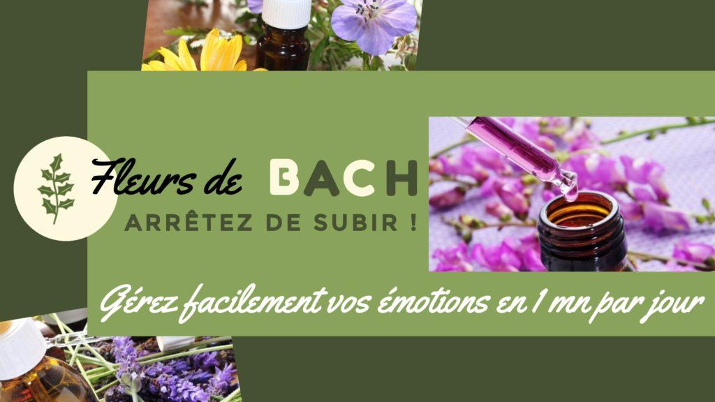 Comment gérer facilement ses émotions avec les Fleurs de Bach