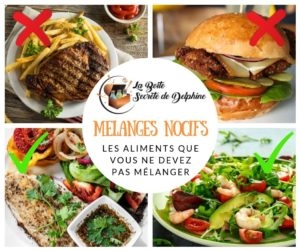 Illustration article Mélanges alimentaires nocifs