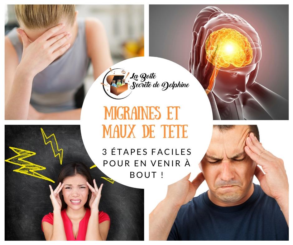 3 étapes faciles pour se débarrasser des maux de têtes sans médicaments