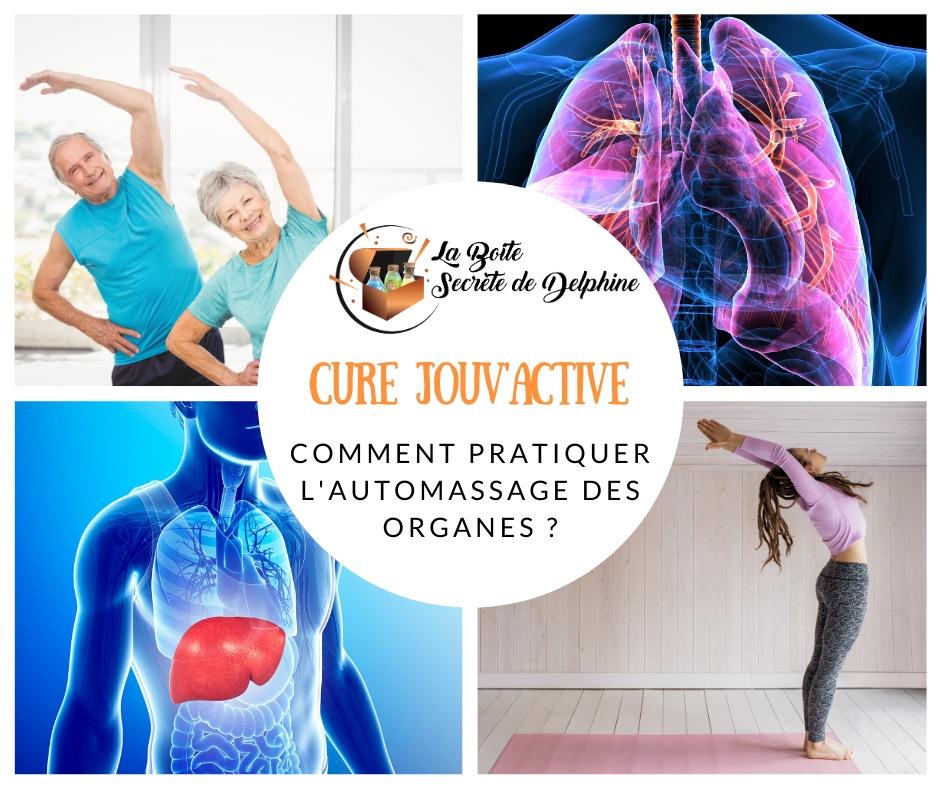 Cure Jouv'Active : comment pratiquer l'automassage des organes