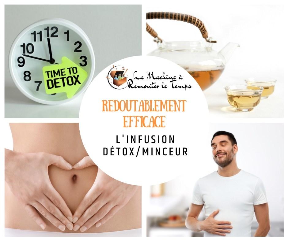 Infusion Détox-minceur - Redoutablement efficace