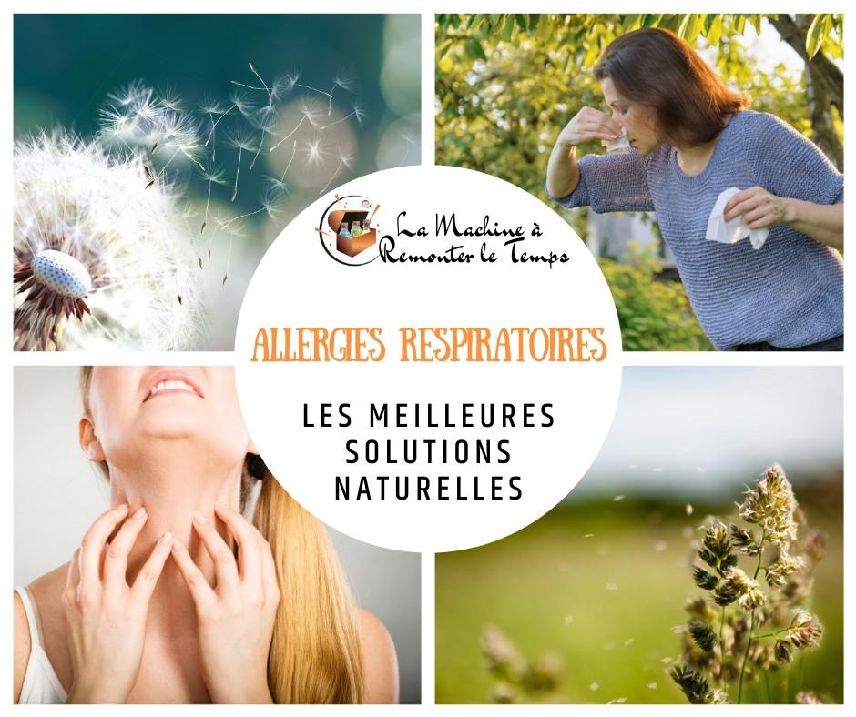 Les meilleures solutions naturelles contre les allergies