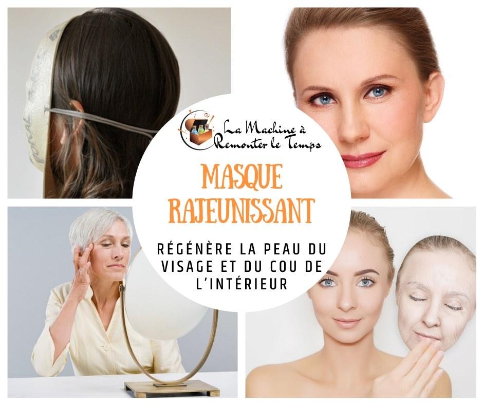 Le masque qui régénère la peau du visage et du cou de l'intérieur