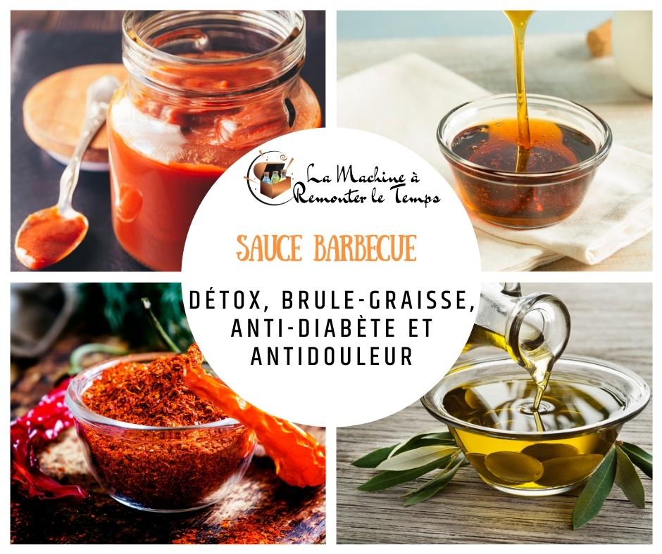 La Sauce barbecue détox, brule-graisse, anti-diabète et antidouleur